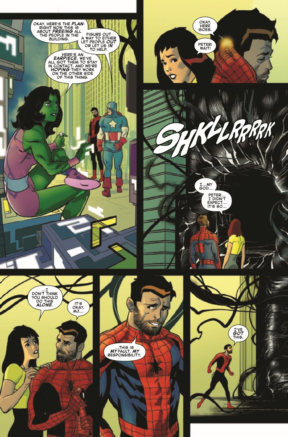 SMSPIDERSHADOW2021004_Preview-5 ComicList Previews: SPIDER-MAN SPIDER'S SHADOW #4 (OF 5)