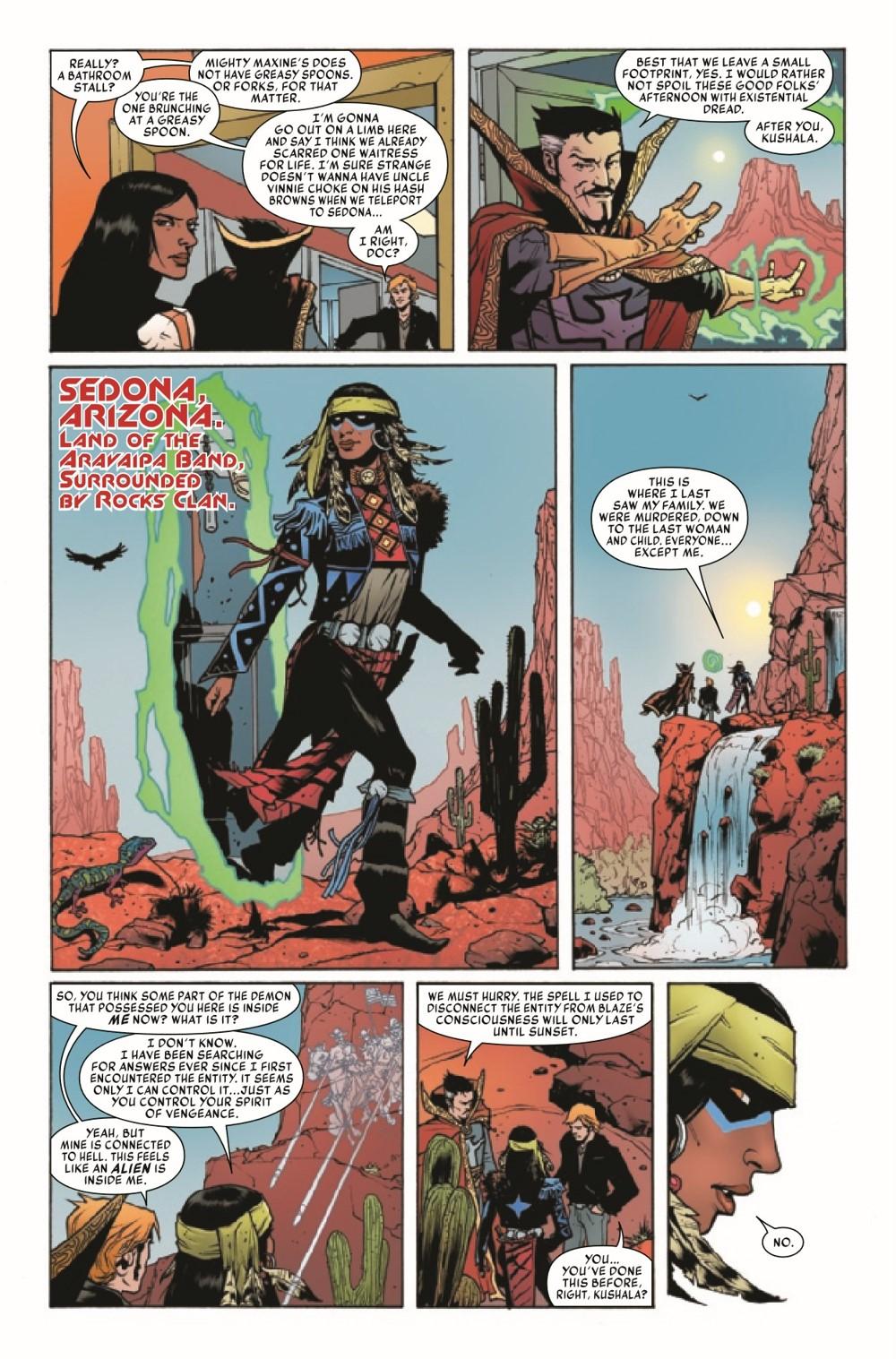 SOVSPRIDER2021001_Preview-5 ComicList Previews: SPIRITS OF VENGEANCE SPIRIT RIDER #1