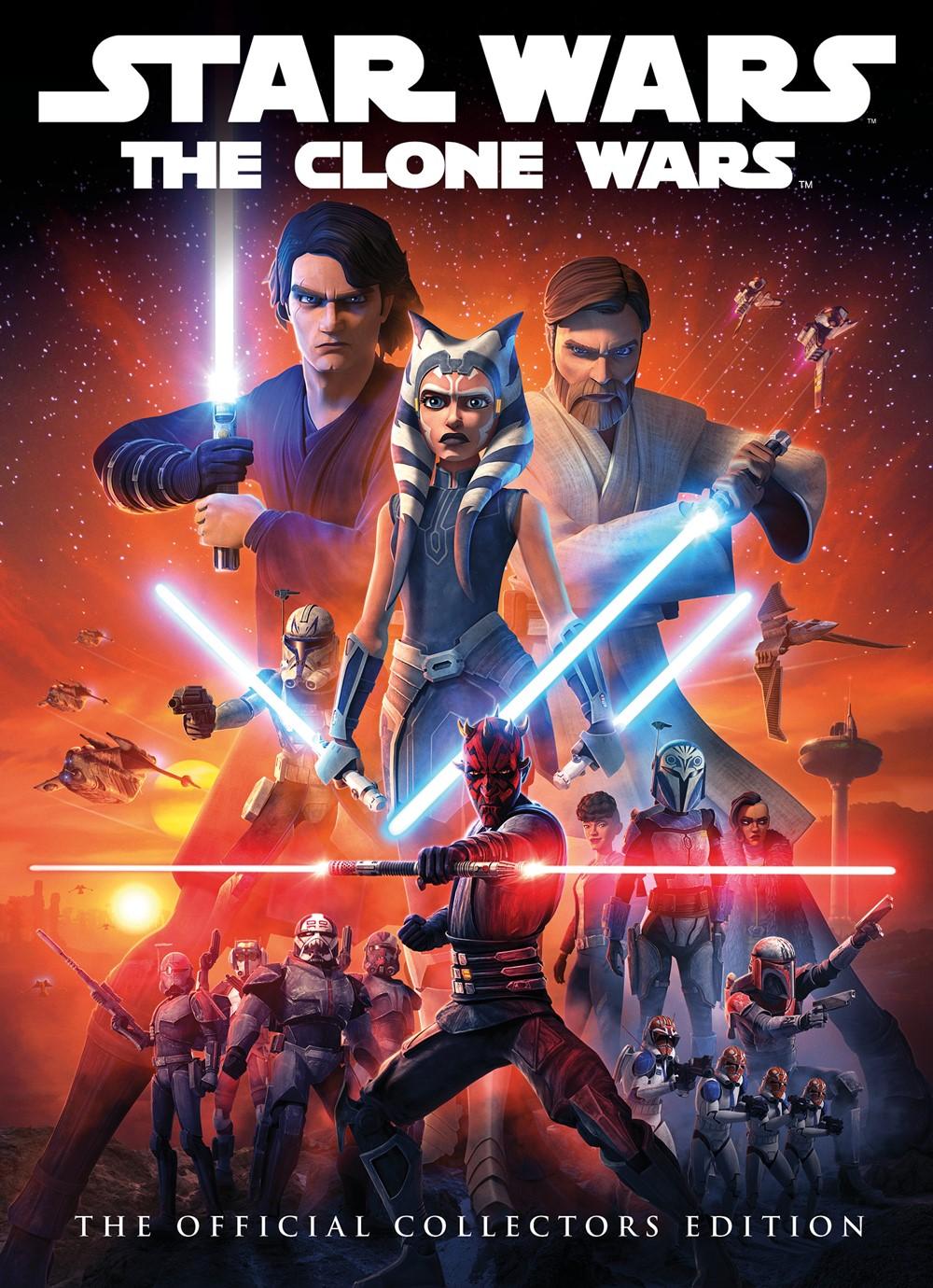 STAR-WARS-CLONE-WARS-HC Titan Comics October 2021 Solicitations