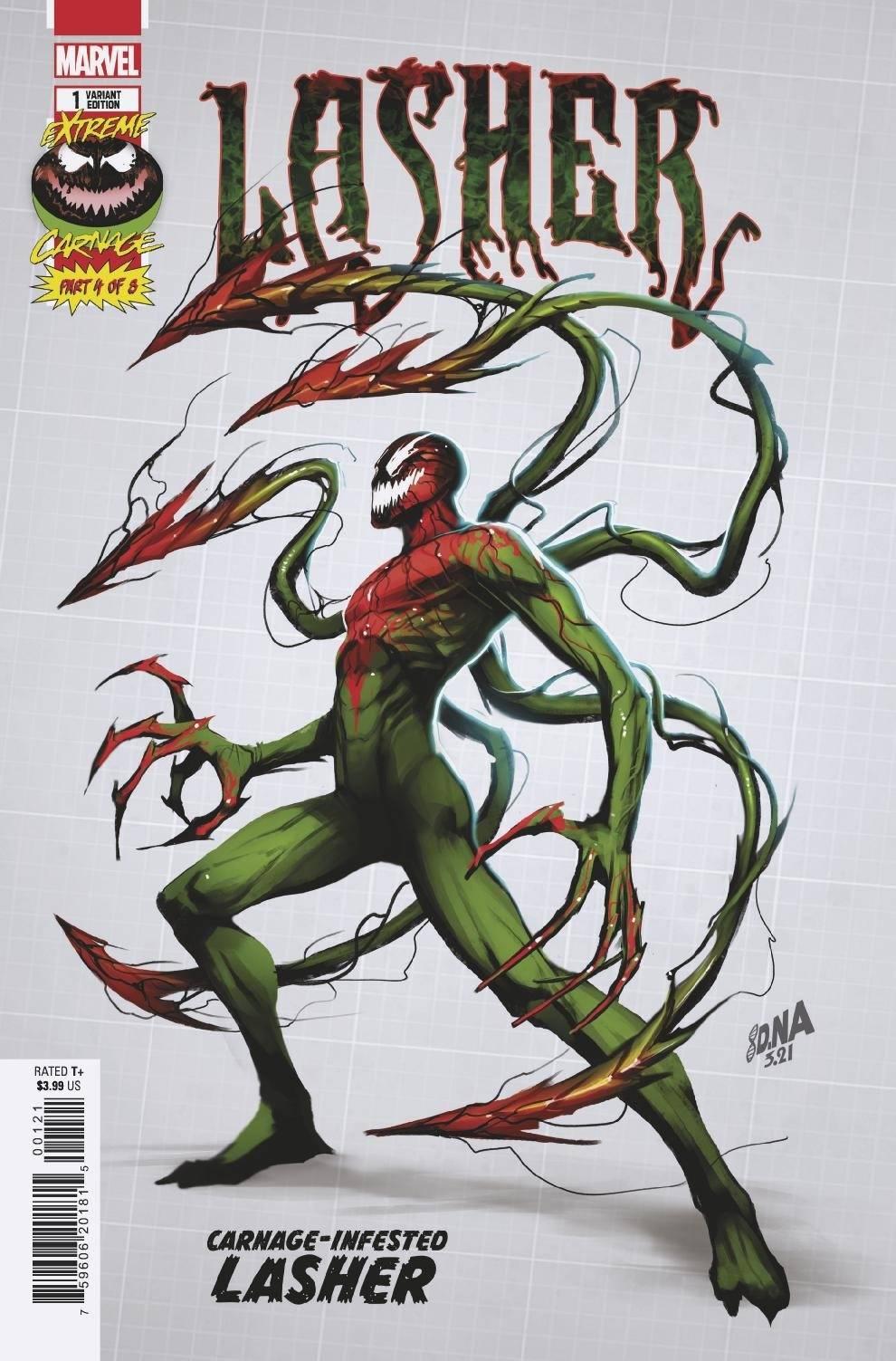 STL195467 ComicList: Marvel Comics New Releases for 08/04/2021
