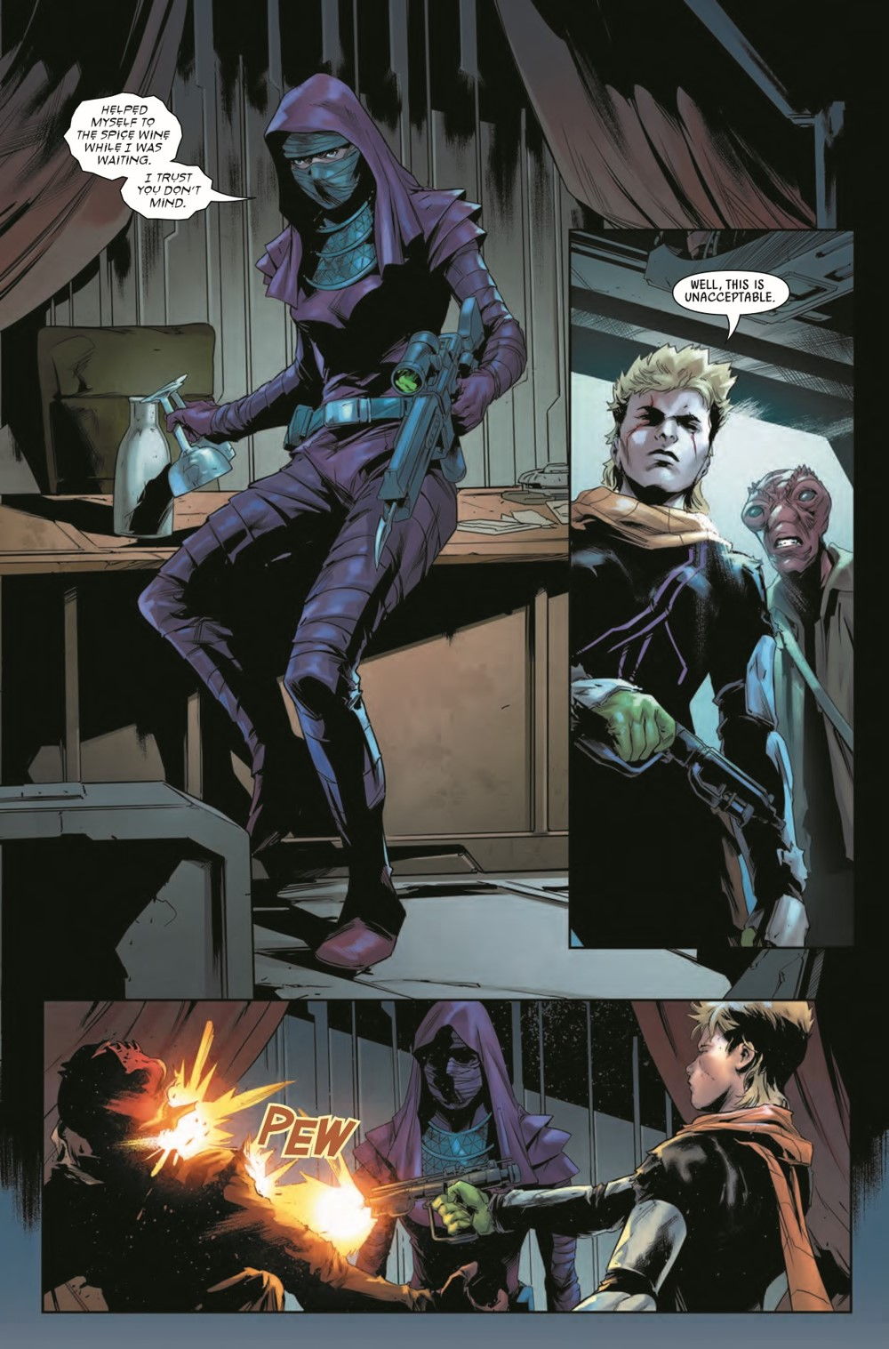 STWBOUNTYHUNT2020015_Preview-4 ComicList Previews: STAR WARS BOUNTY HUNTERS #15