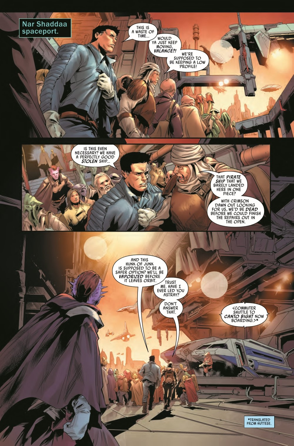 STWBOUNTYHUNT2020015_Preview-6 ComicList Previews: STAR WARS BOUNTY HUNTERS #15