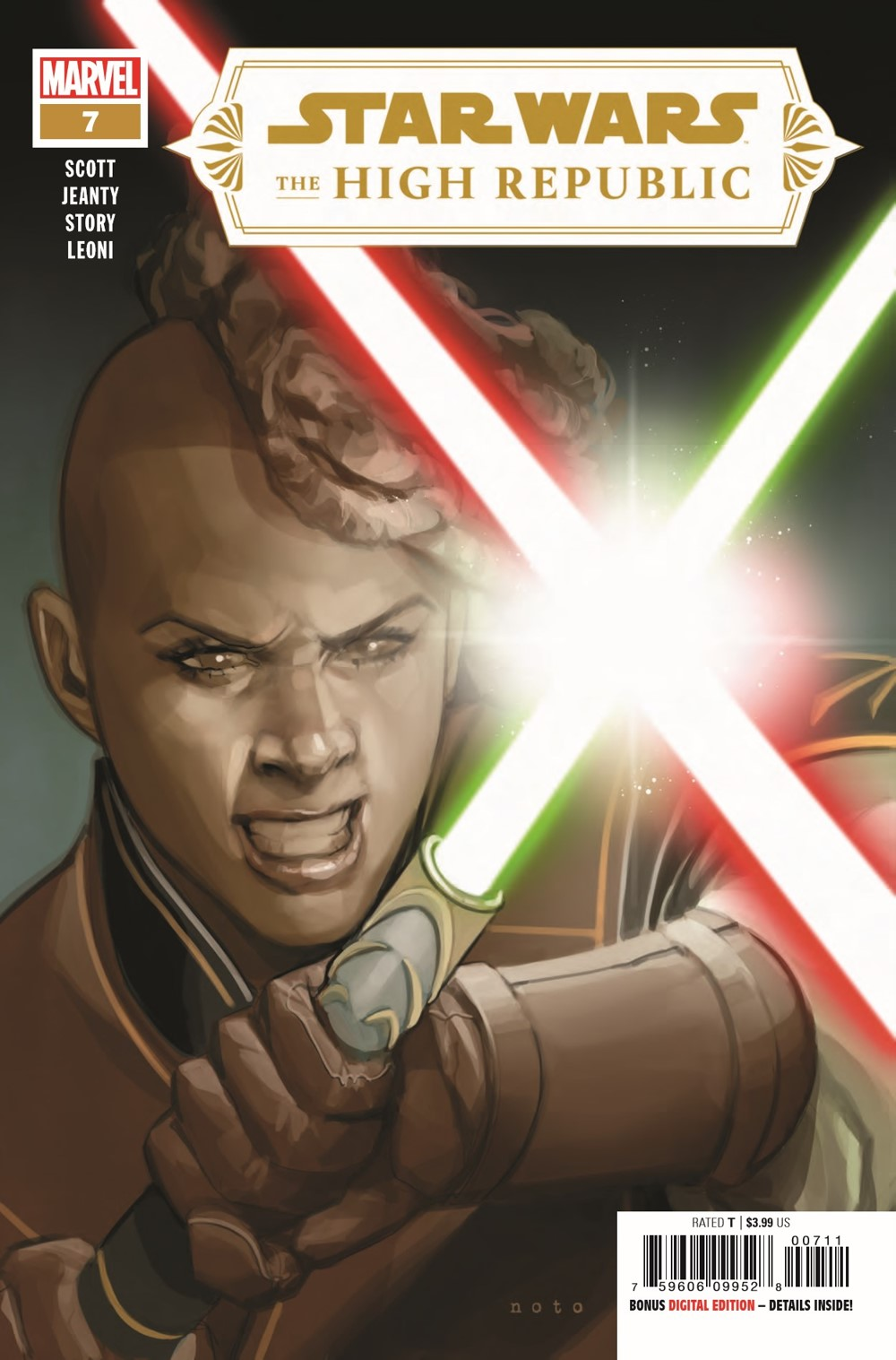 STWHIGHREP2020007_Preview-1 ComicList Previews: STAR WARS THE HIGH REPUBLIC #7