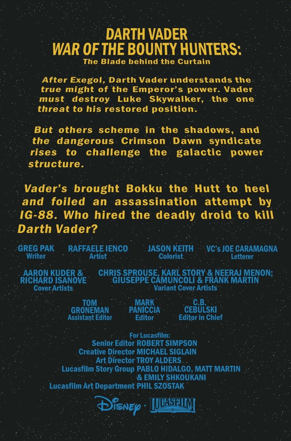 STWVADER2020014_Preview-2 ComicList Previews: STAR WARS DARTH VADER #14