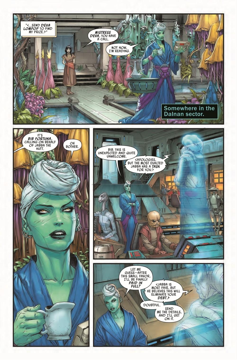 STWWAROTBHJABBAT2021001_Preview-4 ComicList Previews: STAR WARS WAR OF THE BOUNTY HUNTERS JABBA THE HUTT #1