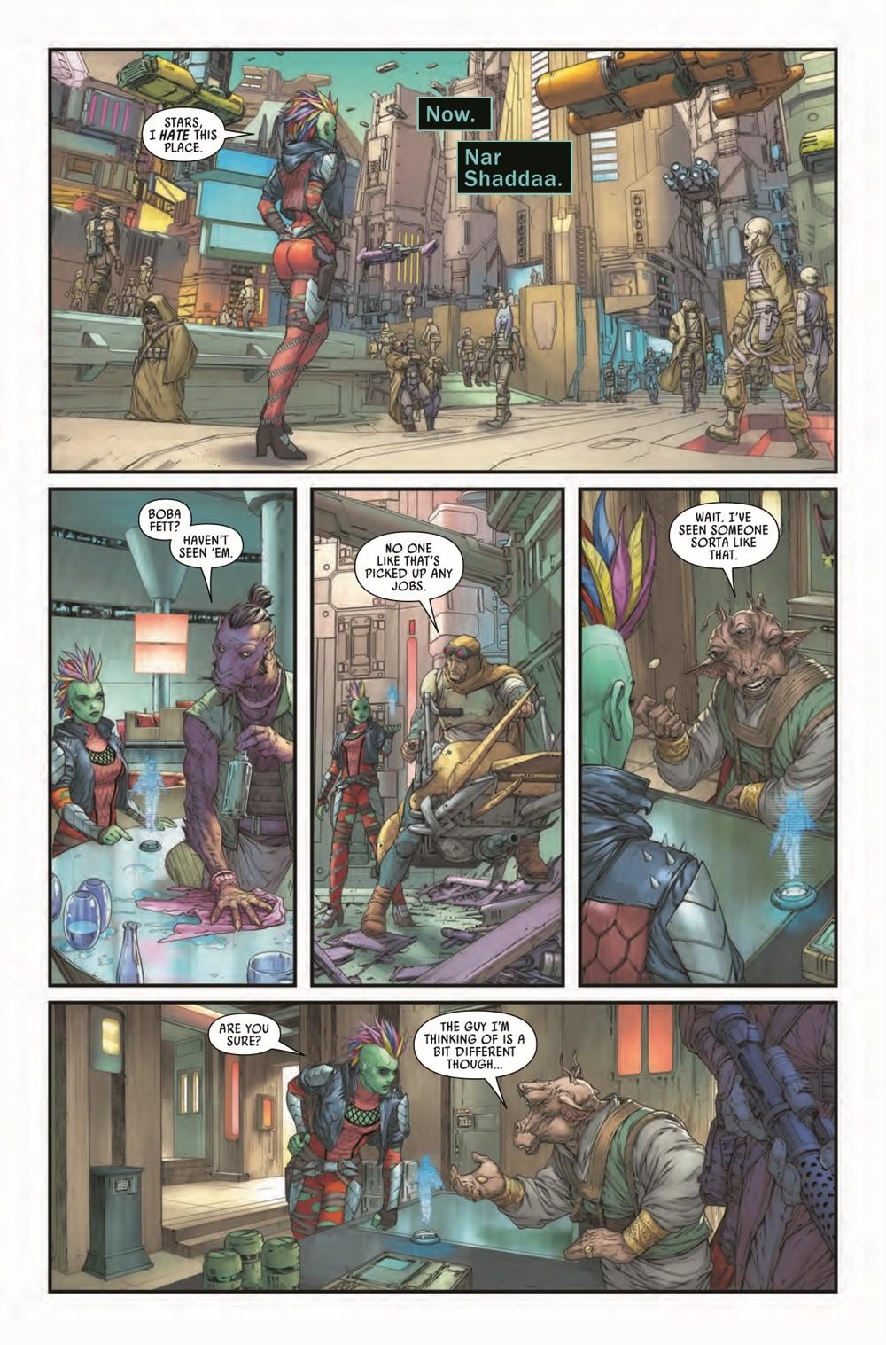 STWWAROTBHJABBAT2021001_Preview-7 ComicList Previews: STAR WARS WAR OF THE BOUNTY HUNTERS JABBA THE HUTT #1