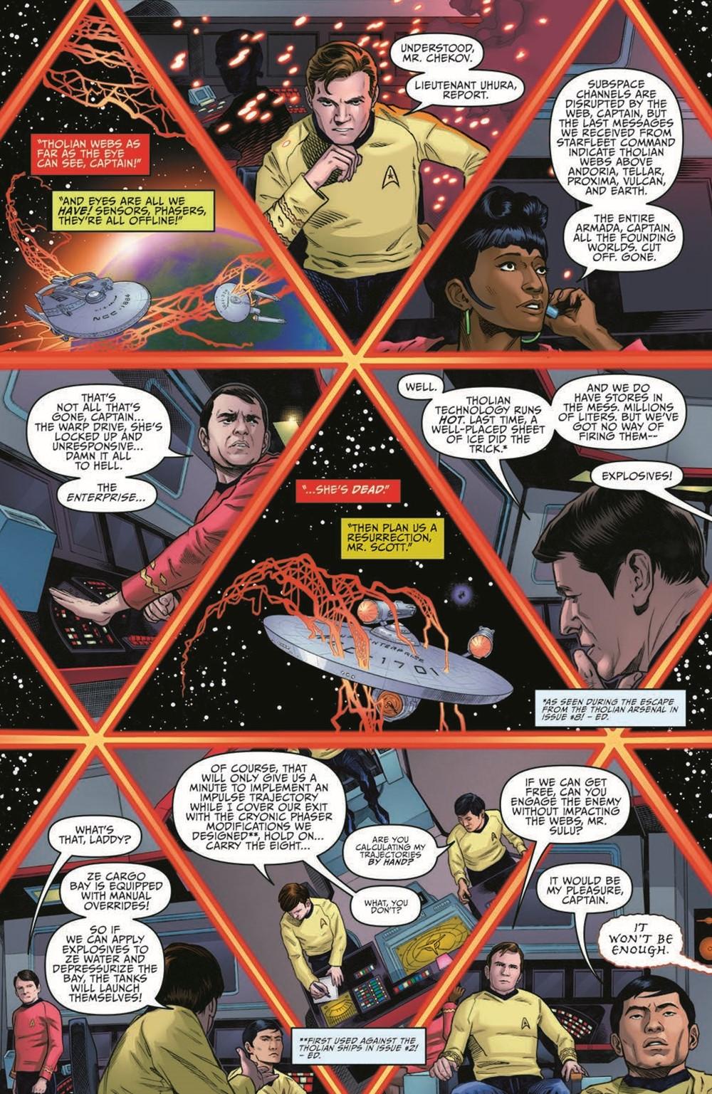 ST_YearFive23-pr-3 ComicList Previews: STAR TREK YEAR FIVE #23