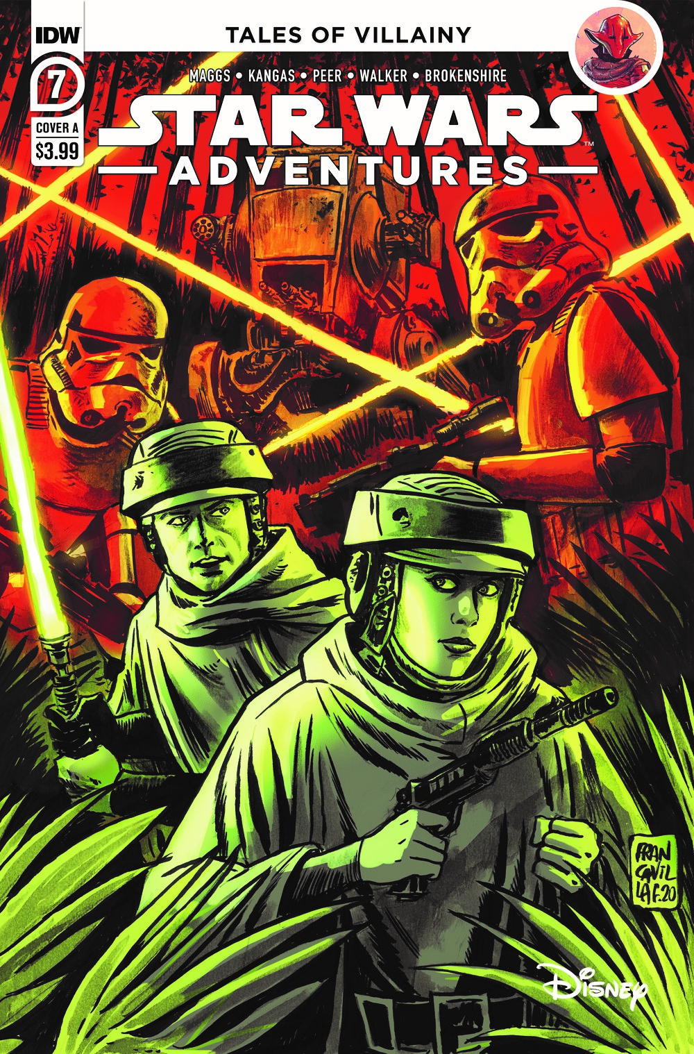 SWA-07-Cover-A ComicList: IDW Publishing New Releases for 07/28/2021