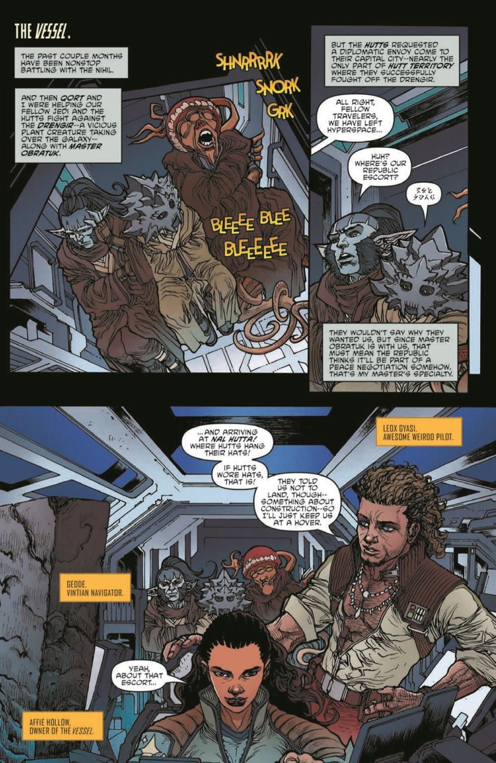 SWAHRA06-pr-4 ComicList Previews: STAR WARS THE HIGH REPUBLIC ADVENTURES #6