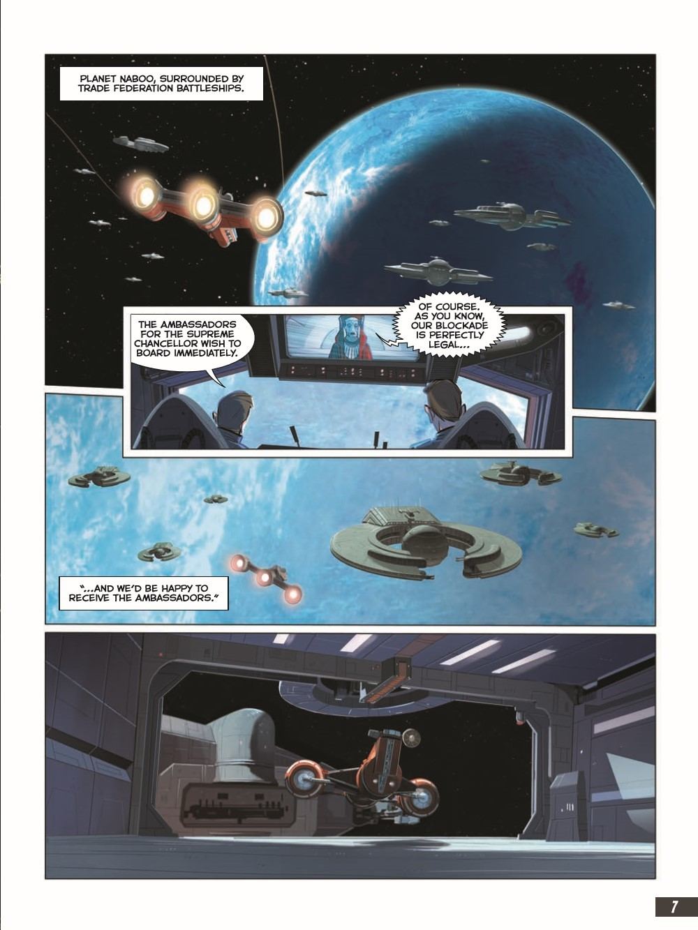 SW_The-Phantom-Menace_pr-3 ComicList Previews: STAR WARS THE PHANTOM MENACE GRAPHIC NOVEL ADAPTATION GN