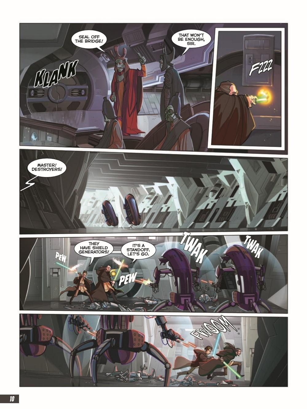 SW_The-Phantom-Menace_pr-6 ComicList Previews: STAR WARS THE PHANTOM MENACE GRAPHIC NOVEL ADAPTATION GN