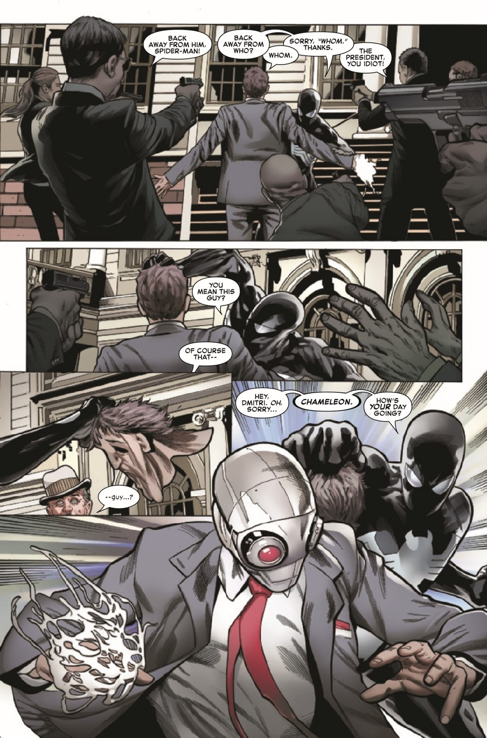 SYMBIOTESMCR2021001_Preview-6 ComicList Previews: SYMBIOTE SPIDER-MAN CROSSROADS #1 (OF 5)