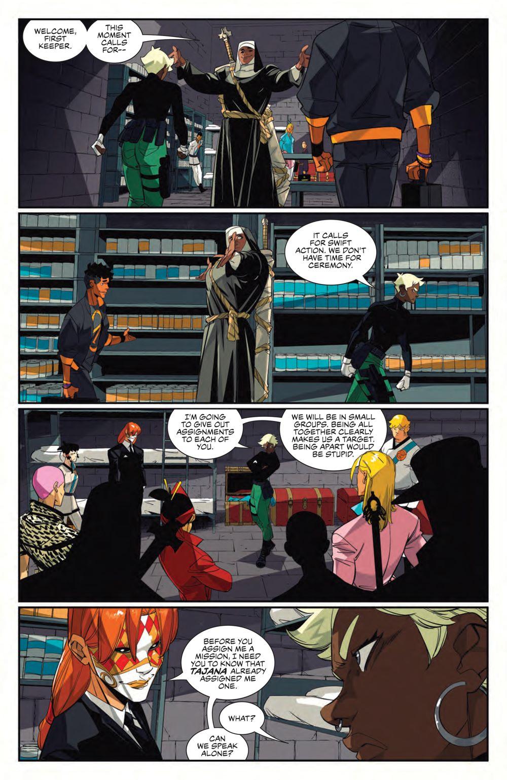 SevenSecrets_010_PRESS_6 ComicList Previews: SEVEN SECRETS #10