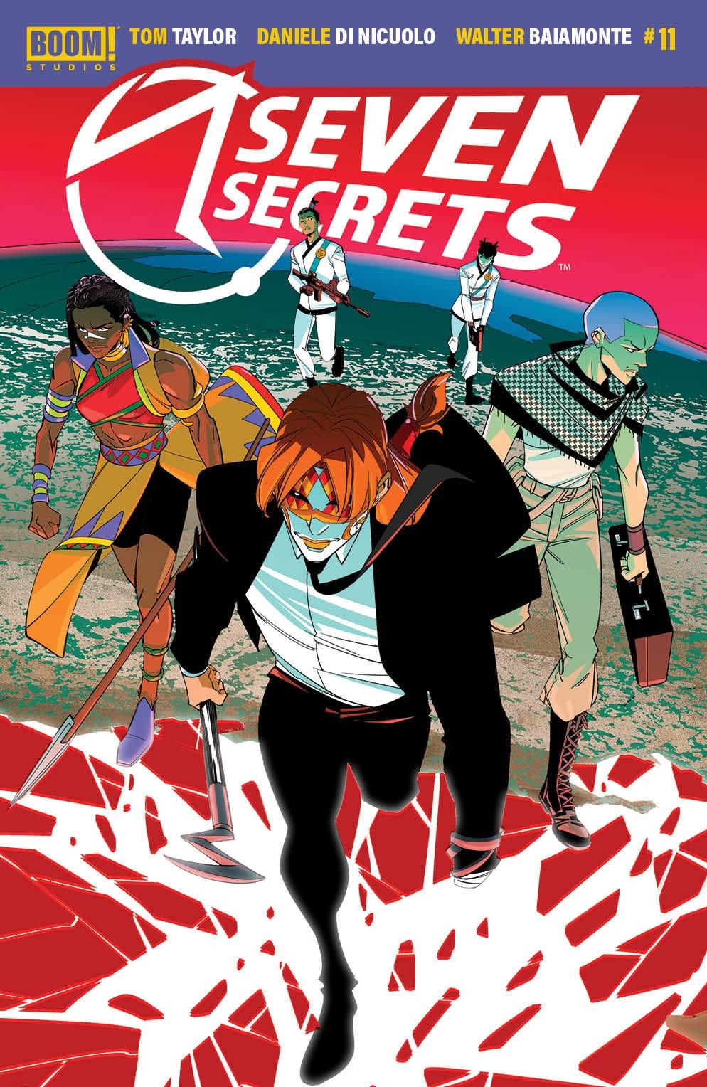 SevenSecrets_011_Cover_A_Main ComicList Previews: SEVEN SECRETS #11