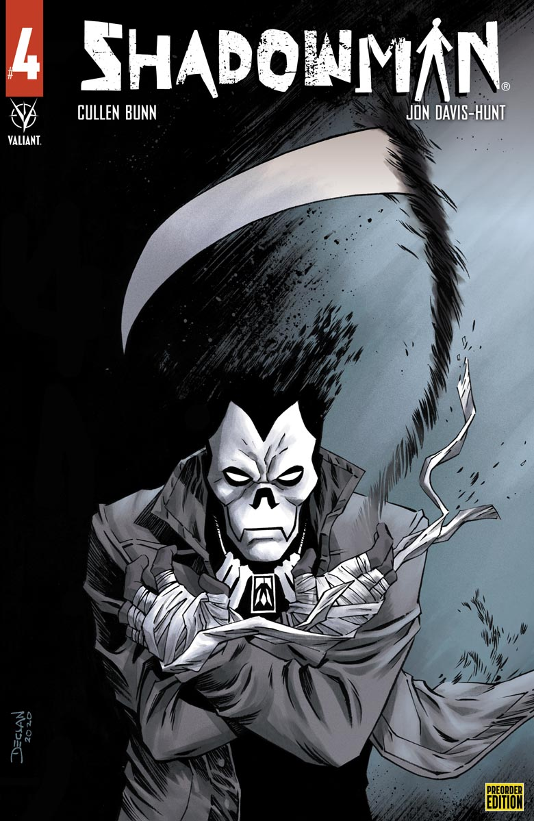 Shadowman_04_PreOrder ComicList: Valiant Entertainment New Releases for 07/28/2021