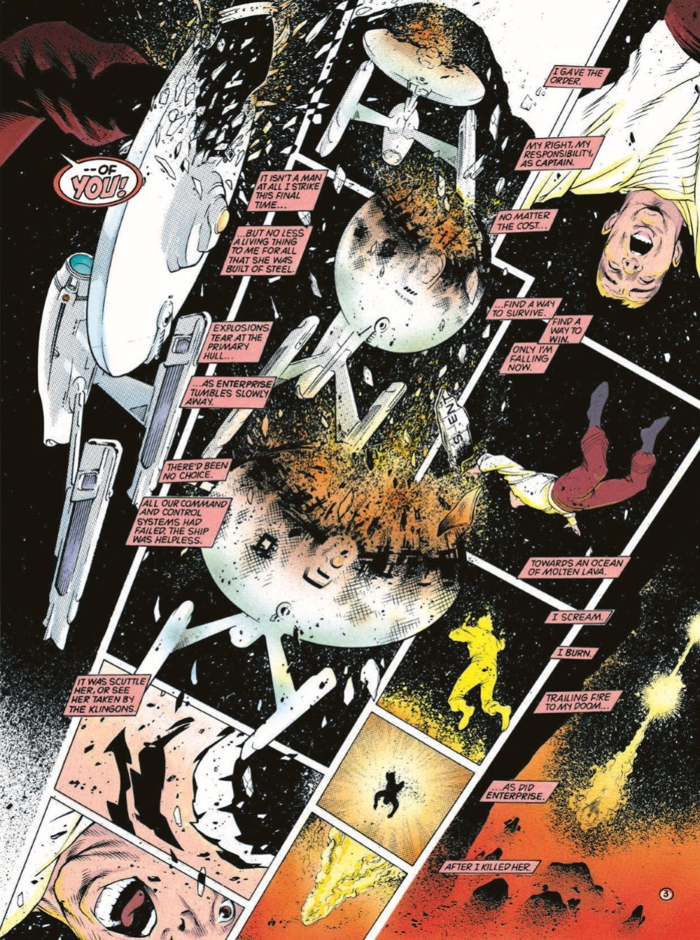 StarTrek_DebtofHonor-pr-6-1 ComicList Previews: STAR TREK DEBT OF HONOR CLASSIC EDITION GN