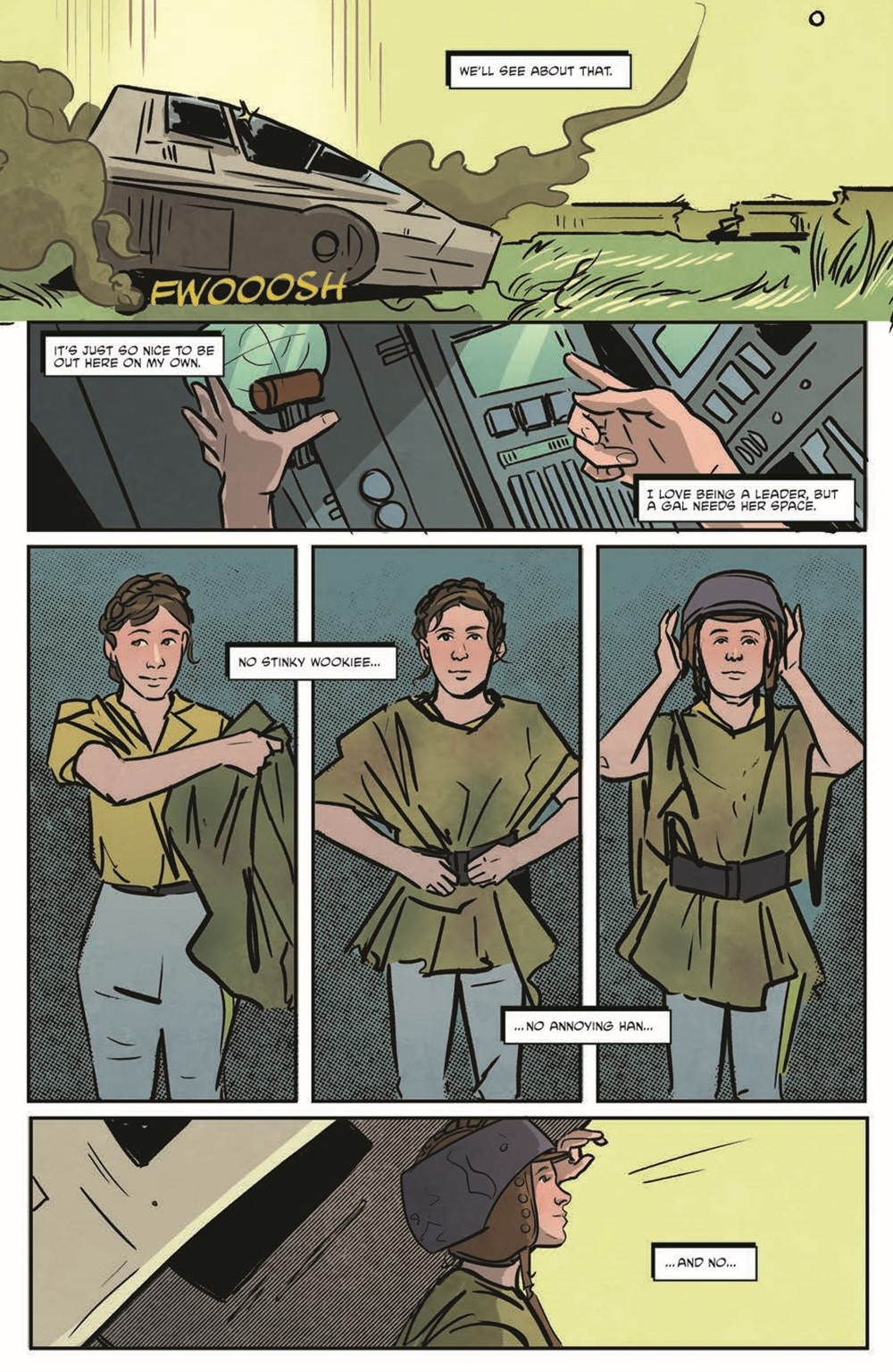 StarWarsAdv07-pr-4 ComicList Previews: STAR WARS ADVENTURES VOLUME 2 #7