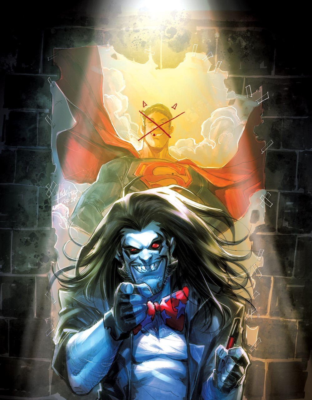 Superman-vs-Lobo-2-main-cover DC Comics October 2021 Solicitations