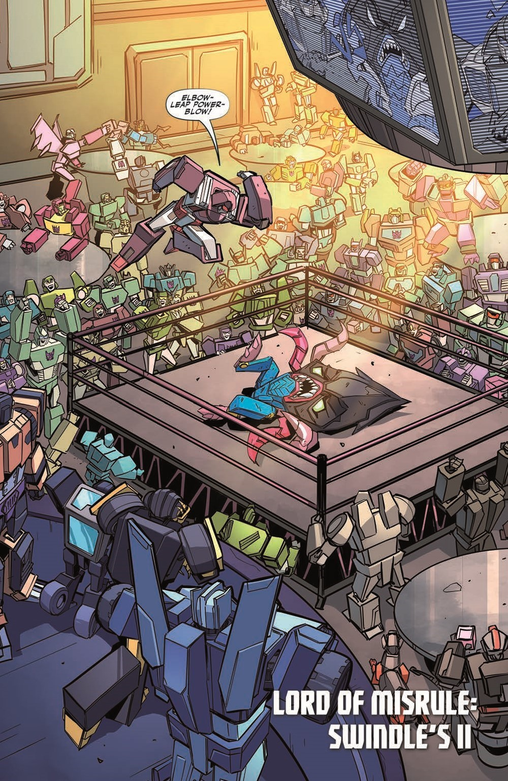 TF33-pr-3 ComicList Previews: TRANSFORMERS #33