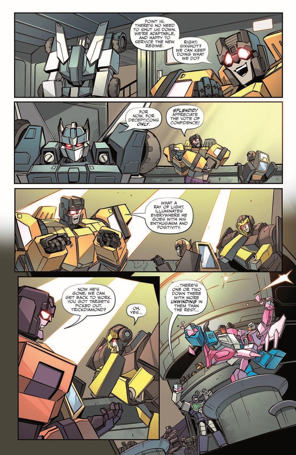 TF33-pr-5 ComicList Previews: TRANSFORMERS #33