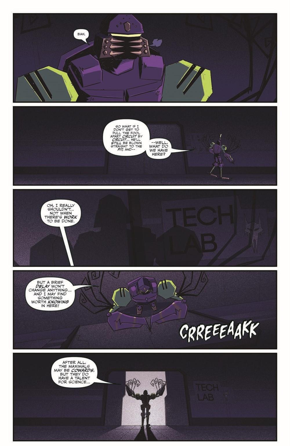 TFBW_06_pr-4 ComicList Previews: TRANSFORMERS BEAST WARS #6