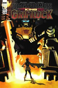TFGrimlock-01-Cover-A-198x300 ComicList Previews: TRANSFORMERS KING GRIMLOCK #1 (OF 5)