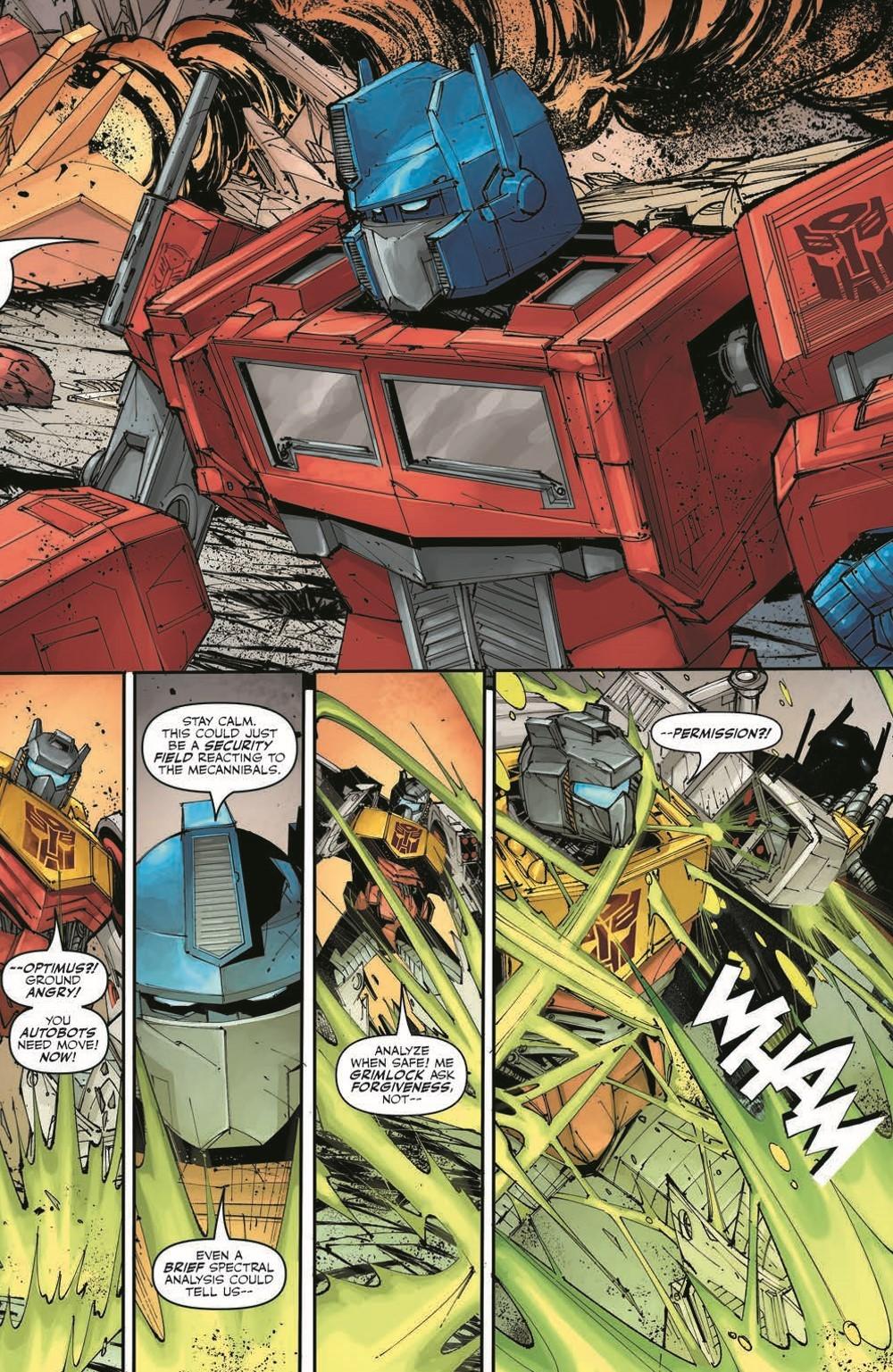 TFKingGrimlock01_pr-5 ComicList Previews: TRANSFORMERS KING GRIMLOCK #1 (OF 5)