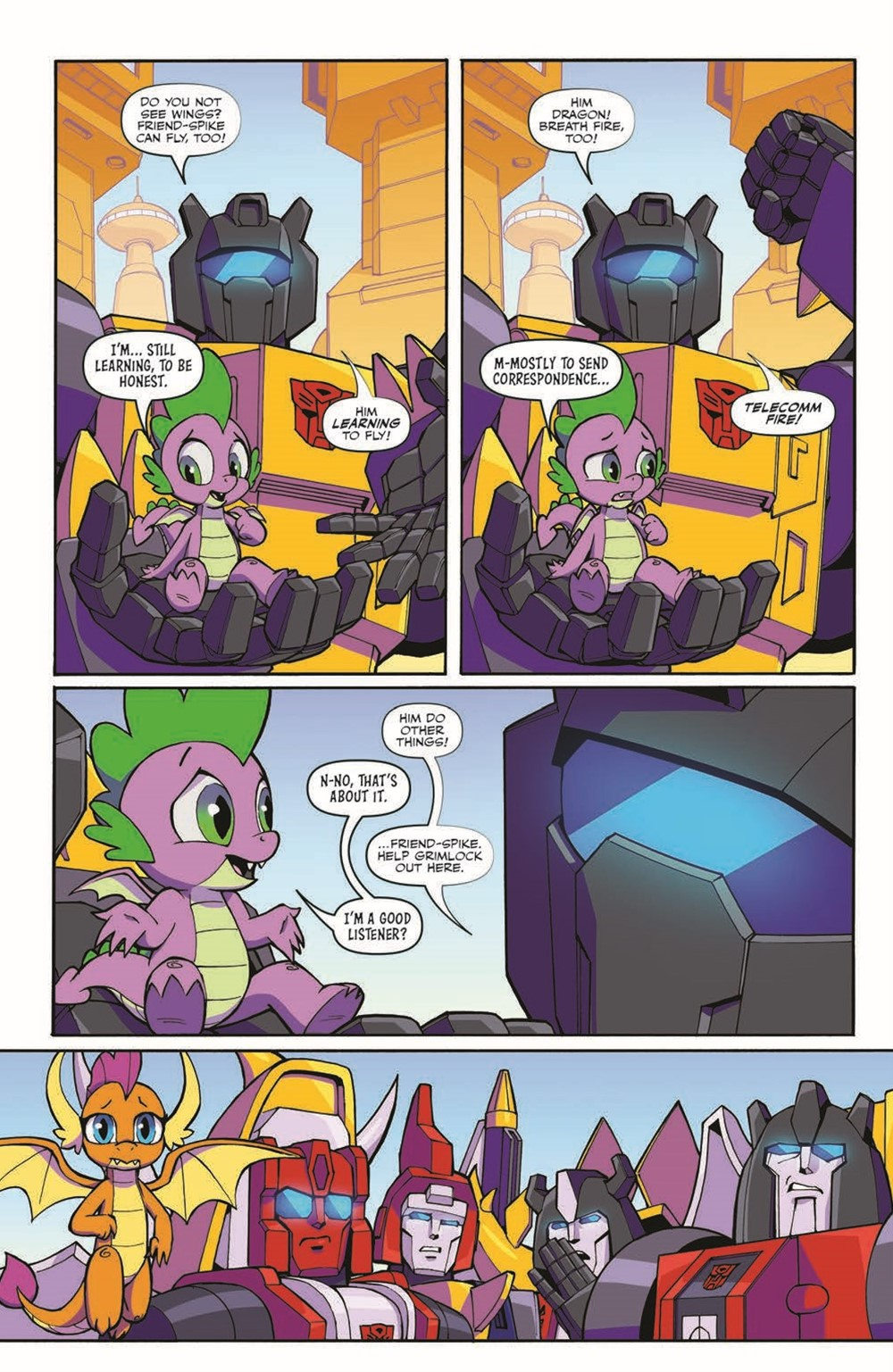 TFMLP2-04-pr-5 ComicList Previews: MY LITTLE PONY TRANSFORMERS II #4 (OF 4)