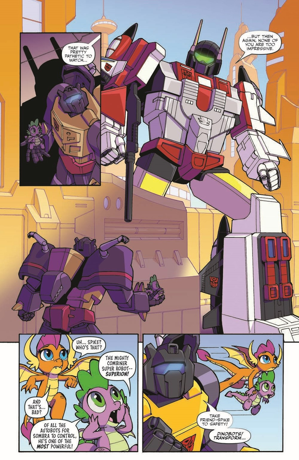 TFMLP2-04-pr-6 ComicList Previews: MY LITTLE PONY TRANSFORMERS II #4 (OF 4)