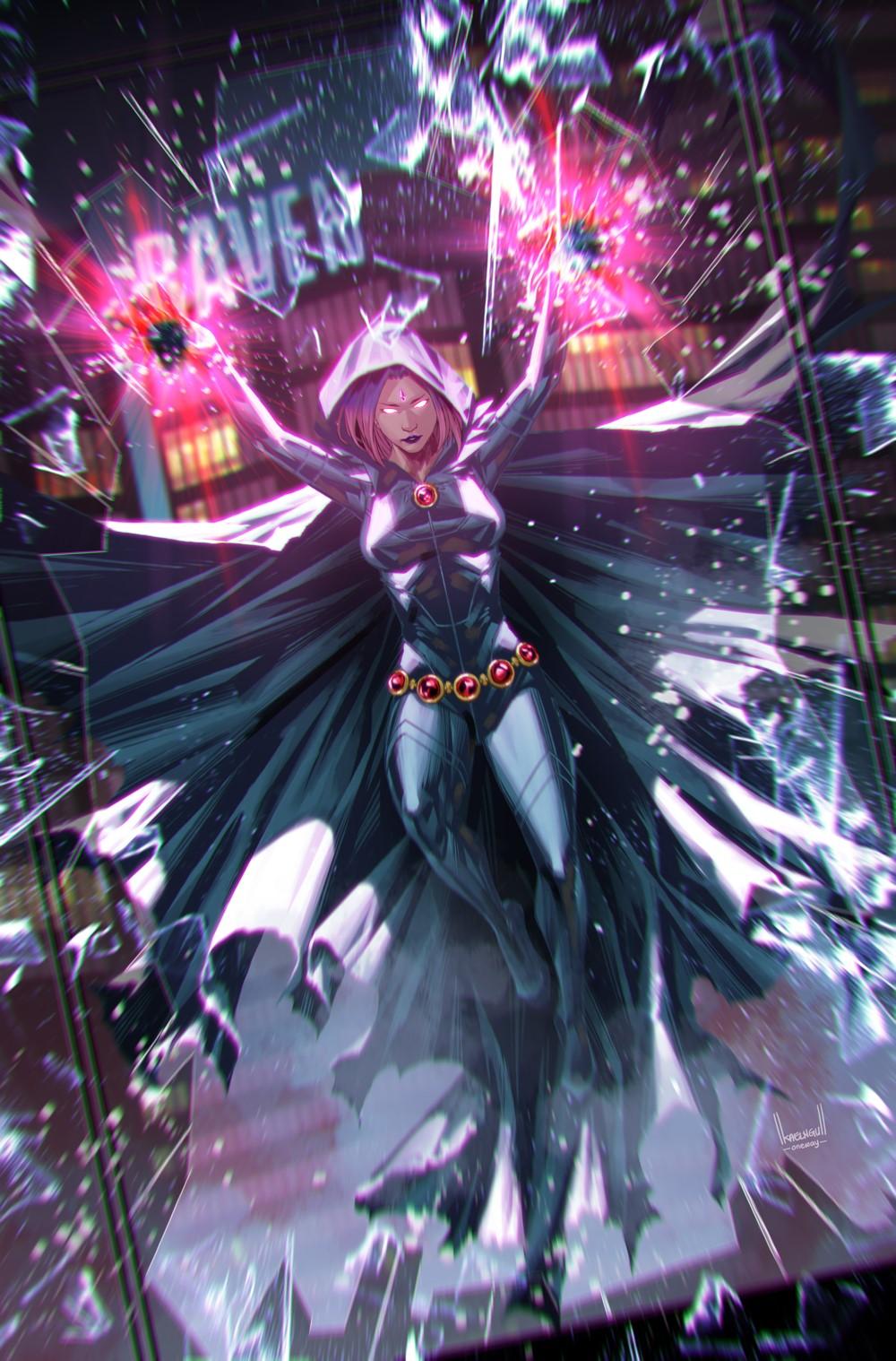 TITANSUNITED-2-Raven-KaelNgu_VAR_NO-TRADE-DRESS DC Comics October 2021 Solicitations