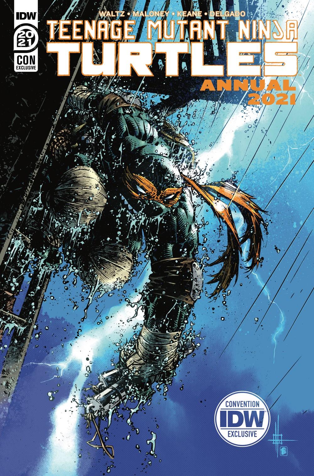 TMNT-Annual2021_cvrCON ComicList Previews: TEENAGE MUTANT NINJA TURTLES ANNUAL 2021