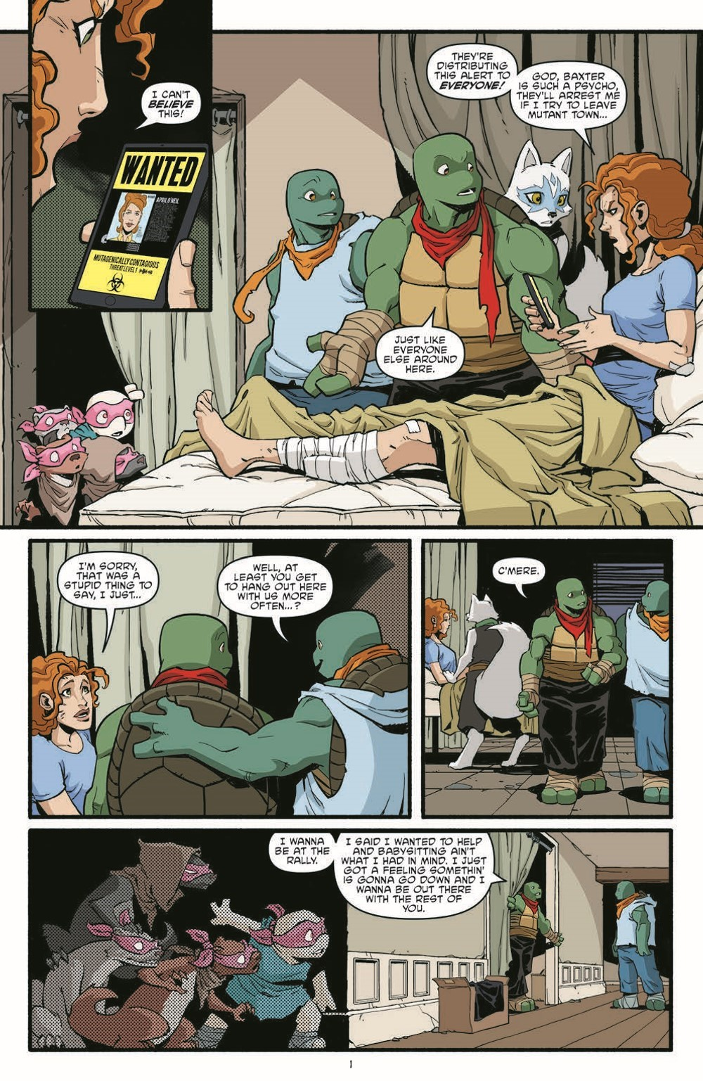 TMNT119_pr-3 ComicList Previews: TEENAGE MUTANT NINJA TURTLES #119