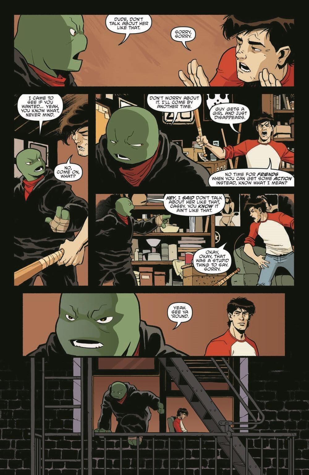 TMNT119_pr-6 ComicList Previews: TEENAGE MUTANT NINJA TURTLES #119