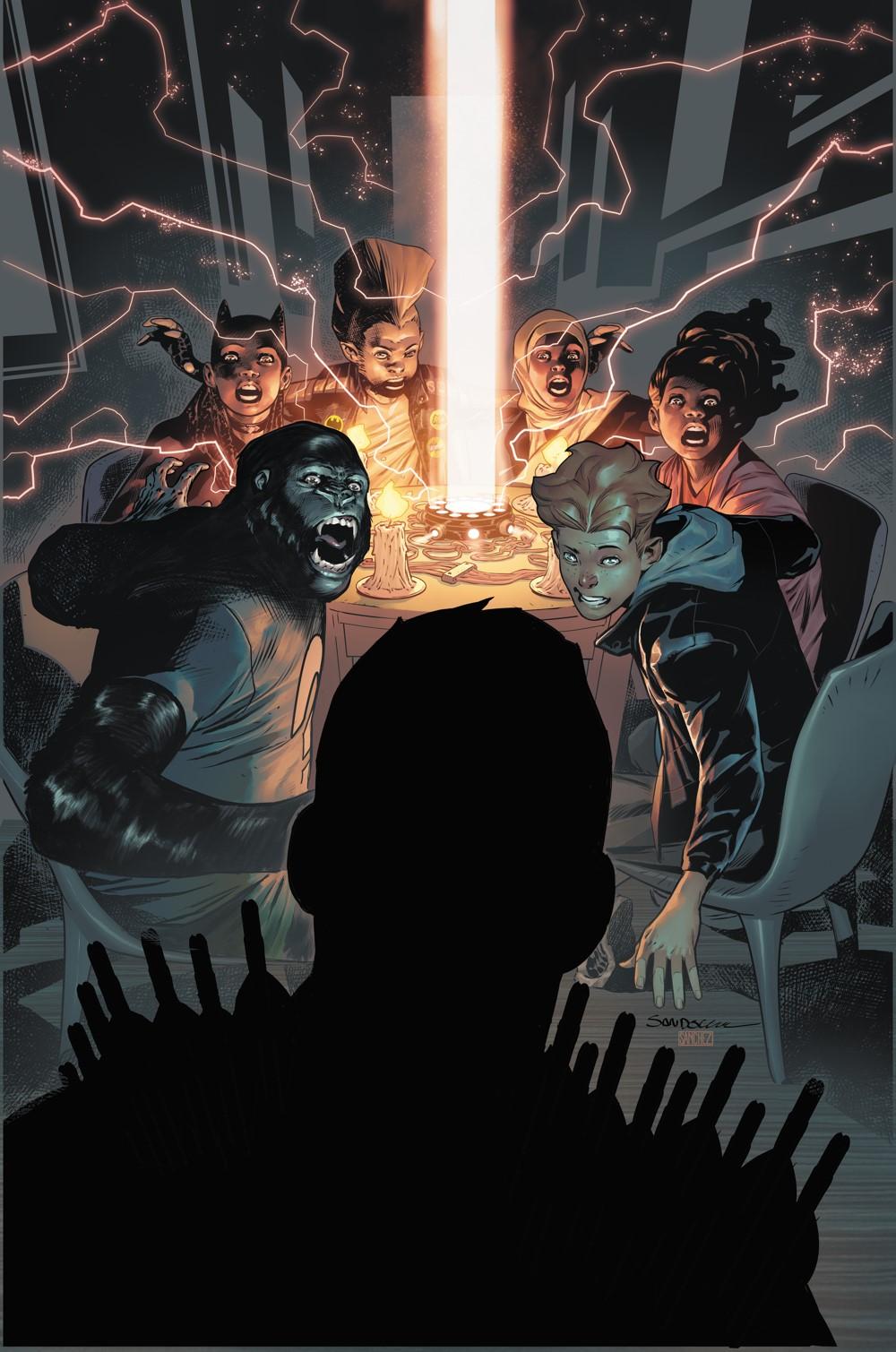 Teen-Titans-Academy-8-Main-cover DC Comics October 2021 Solicitations