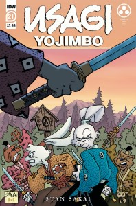 Usagi21_cvrA-198x300 ComicList Previews: USAGI YOJIMBO #21