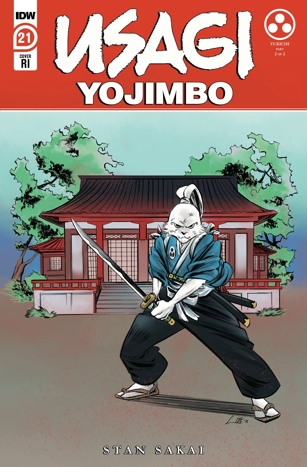 Usagi21_cvrRI ComicList Previews: USAGI YOJIMBO #21