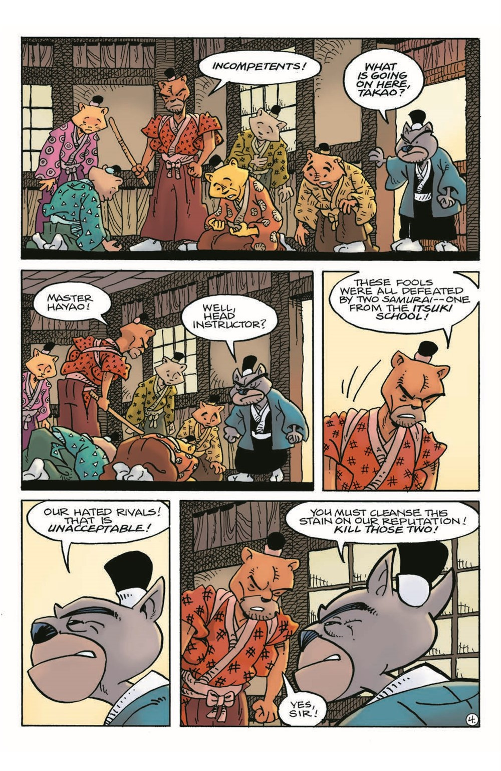 Usagi21_pr-6 ComicList Previews: USAGI YOJIMBO #21