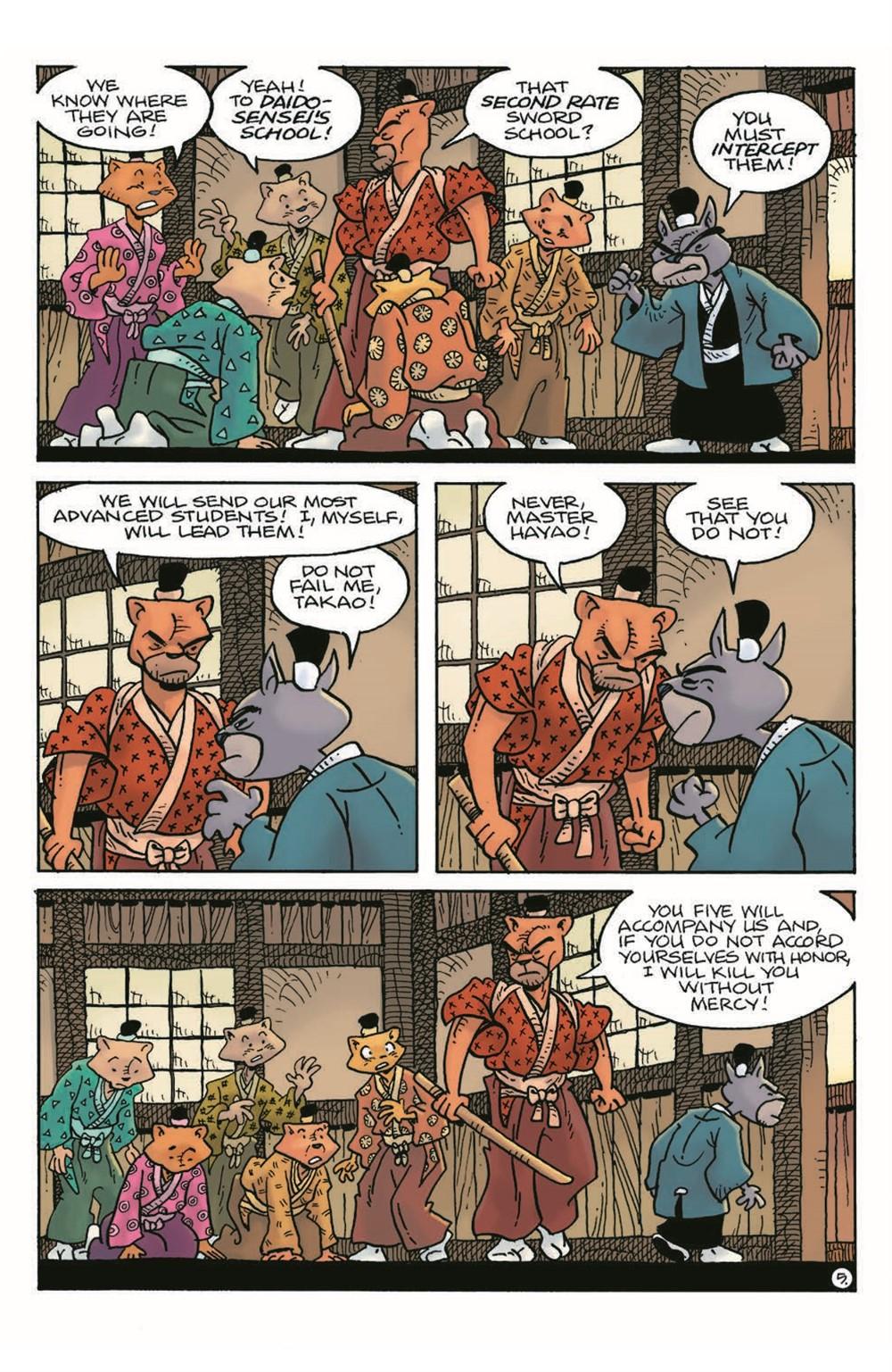 Usagi21_pr-7 ComicList Previews: USAGI YOJIMBO #21