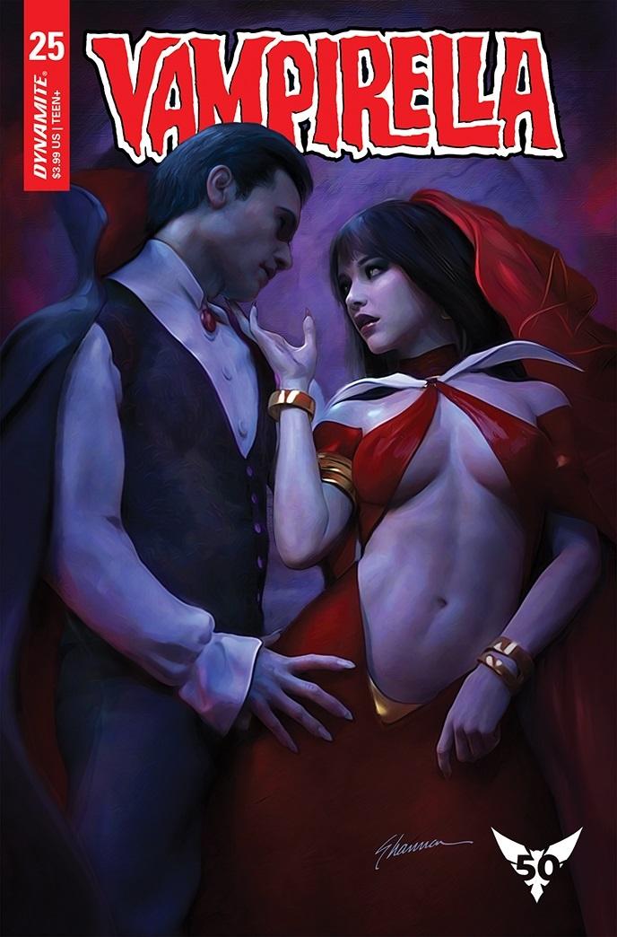 Vampi-25-25021-B-Maer Dynamite Entertainment October 2021 Solicitations