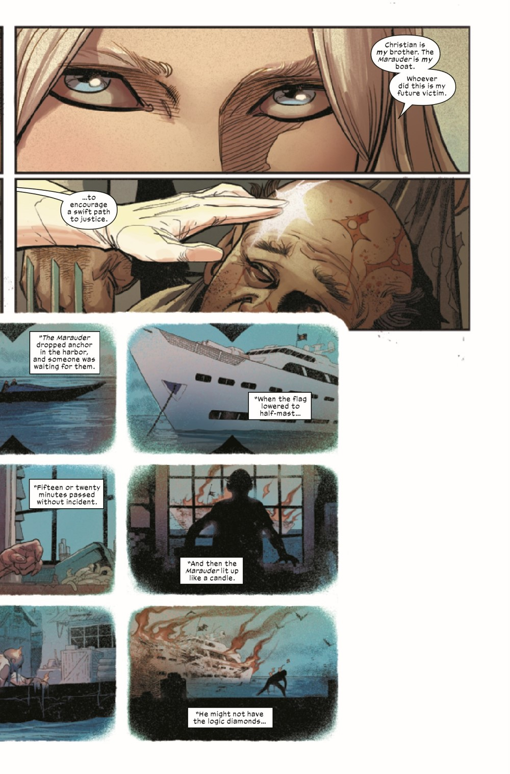 WOLV2020014_Preview-4 ComicList Previews: WOLVERINE #14