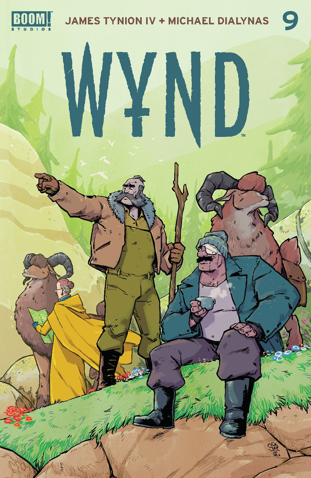 Wynd_009_Cover_A_Main ComicList: BOOM! Studios New Releases for 08/04/2021