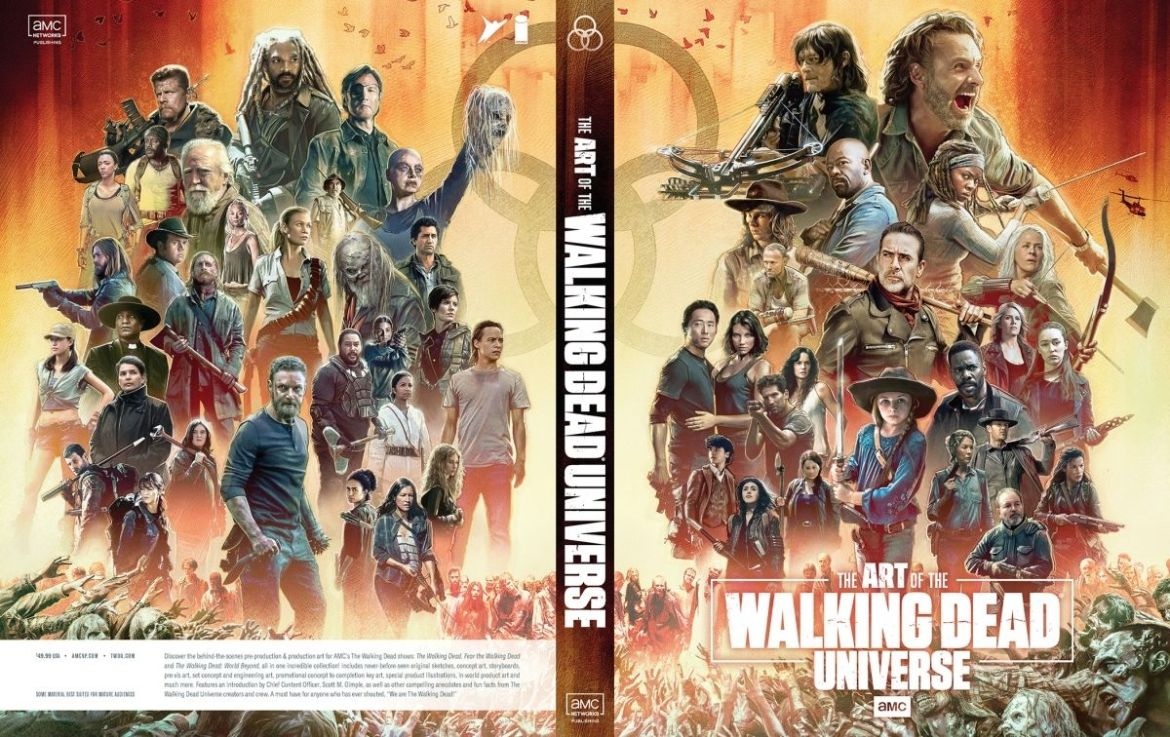 c1c4_AoTWDU_coverA_FINAL31-1_c6815a0147f8285e3b5042ebb3626151 THE ART OF AMC'S THE WALKING DEAD UNIVERSE cover revealed