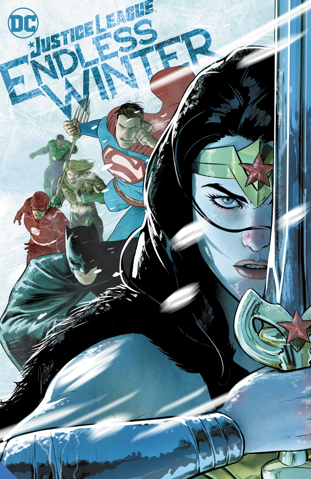 justiceleagueendlessswinter_adv DC Comics October 2021 Solicitations