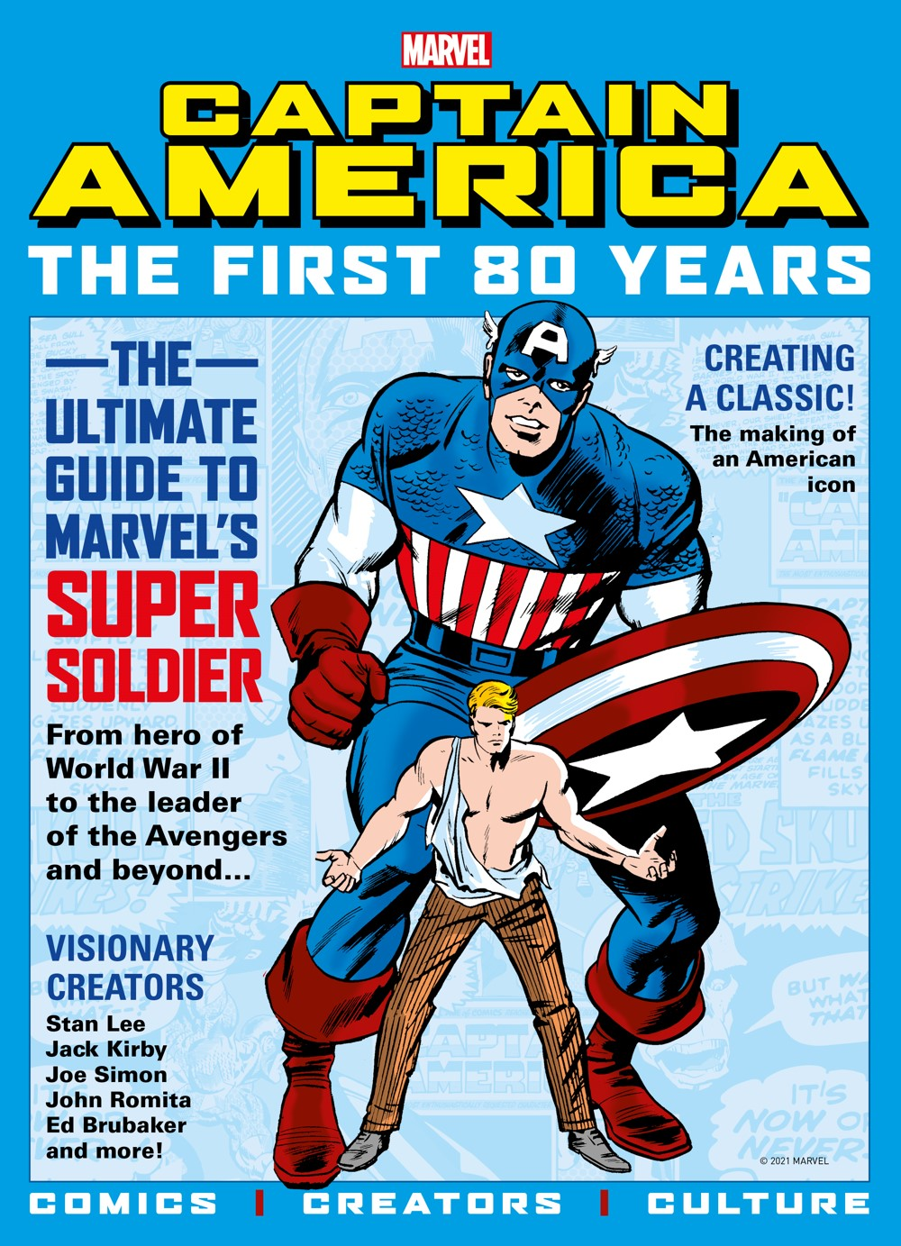 newsstand ComicList Previews: MARVEL COMICS CAPTAIN AMERICA THE FIRST 80 YEARS
