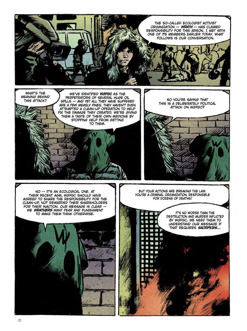 snowpiercer_the_prequel-extinction-1 ComicList Previews: SNOWPIERCER PREQUEL VOLUME 1 EXTINCTION GN