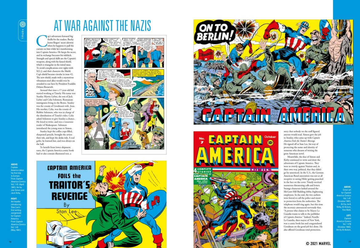 spread_1 ComicList Previews: MARVEL COMICS CAPTAIN AMERICA THE FIRST 80 YEARS