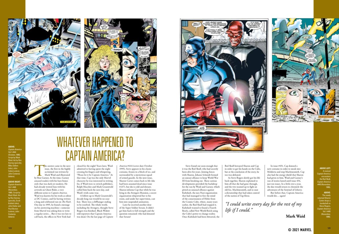 spread_6 ComicList Previews: MARVEL COMICS CAPTAIN AMERICA THE FIRST 80 YEARS