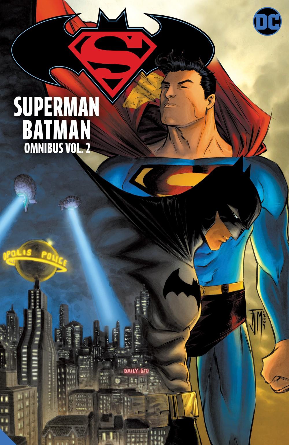 supermanbatman-omni-vol2_adv DC Comics October 2021 Solicitations