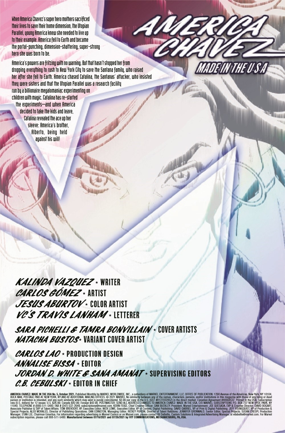 AMERCHAVEZUSA2021005_Preview-2 ComicList Previews: AMERICA CHAVEZ MADE IN THE U.S.A. #5 (OF 5)