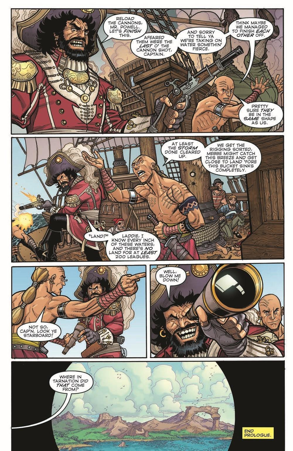 BERMUDA02_pr-5 ComicList Previews: BERMUDA #2 (OF 4)